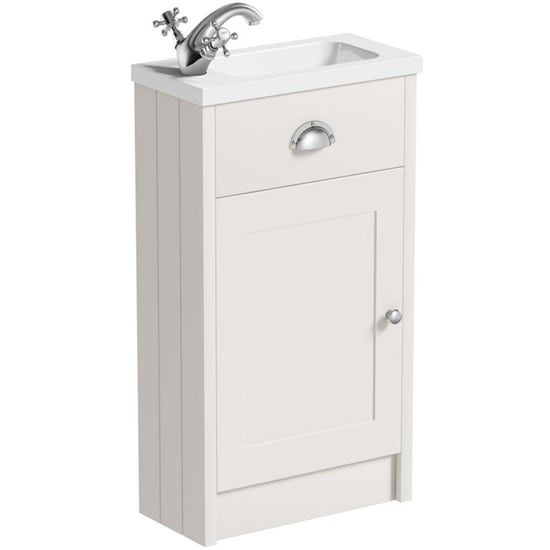 Ideal Standard Concept Space White Floor Standing Vanity Unit And