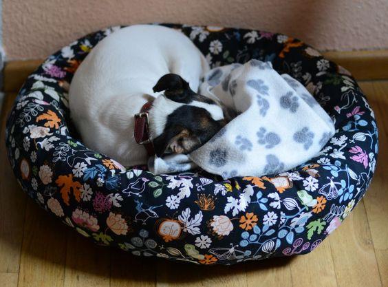 Hundebett Nähanleitung