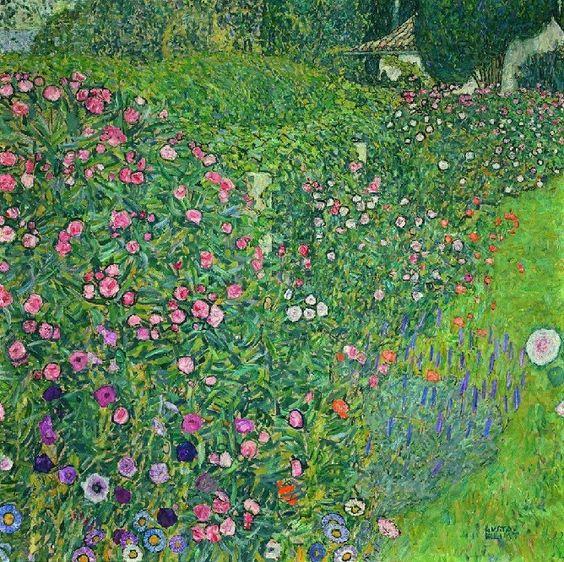 Gustav Klimt: Italian Garden Landscape, 1913