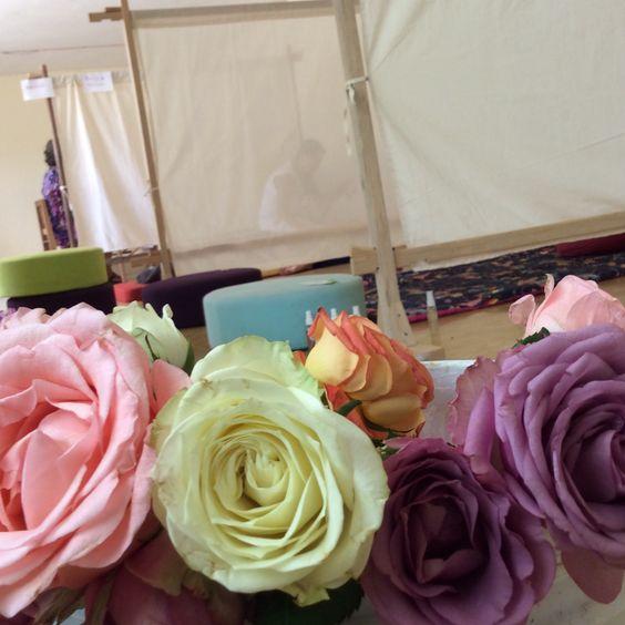 El encanto de las rosas. Casa Uuh Mérida Yucatán.