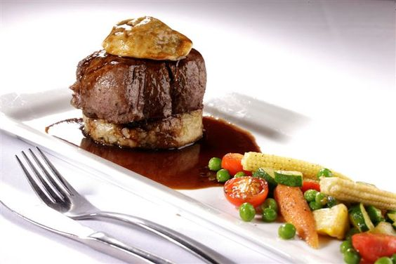 Beef fillet on potato rosti
