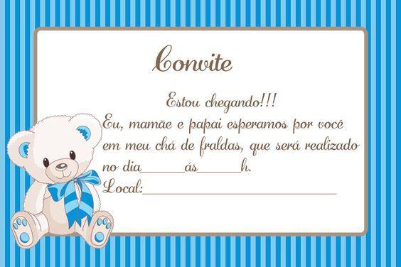 Convite Para Imprimir Cha De Fraldas Baby Mickey Baby Shawer