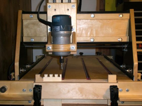 Homebuilt CNC Router #1: A Journey - by SPalm @ LumberJocks.com ~ woodworking community: Woodworking Router, Cnc Photo, Woodworking Cnc, Cnc Ideas, Creativity Woodworking, Built Cnc, Cnc Shenanigans, Cnc Router
