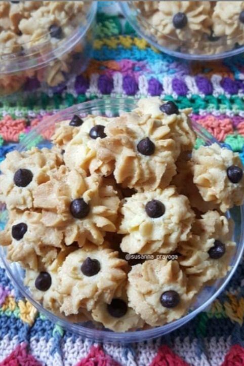 Cara Membuat Semprit Dahlia Resep Kue Lezat Kue