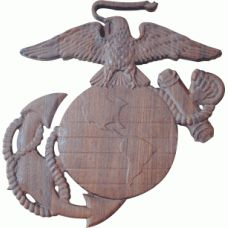 "Go For Best  Marine Corps Emblem   -  During the early years various recognizing imprints were recommended, including ""dark ribbons"", ""red crest"", and ""yellow groups and tufts"". Be that as it may in the first form of the present colour plan for the officer's dress uniform symbol showed up on a showy gadget of the robust Marine Corps Emblem, wood plaques, Marine Corps Wings etc."