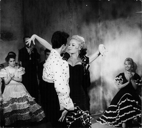 "Brigitte Bardot in ""A Woman Like Satan"" 1959"