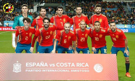 España 5-0 Costa Rica