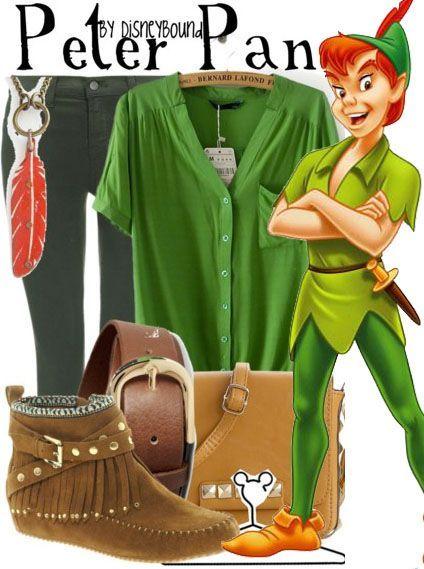 """Peter Pan""   Disney Bound #disney #disneybound #disneystyle #disneyfashion"