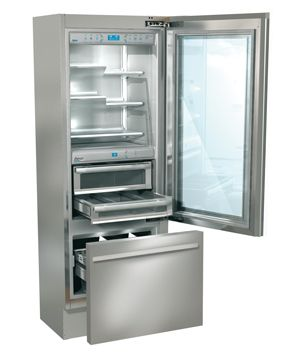 Glass door refrigerator refrigerators and freezers on pinterest - Glass door refrigerator freezer ...