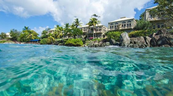 Gallows Point resort on St John's island, USVI