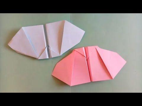 صنع اشياء بالورق كيف تصنع طائرة ورقية تطير كالطائر Paper Plane