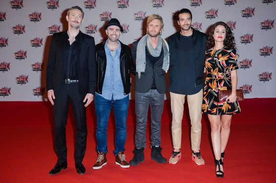 Pin for Later: Stars Françaises et Stars Internationales Se Mélangent Lors des NRJ Music Awards Vincent Desagnat, Julien Arruti, Philippe Lacheau, Tarek Boudali et Alice David