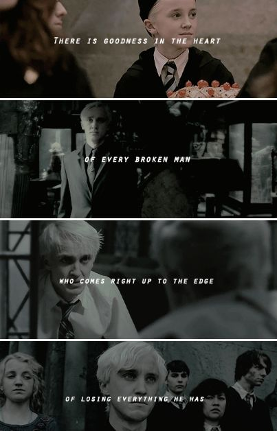 we were young enough to sign along the dotted line now we're young enough to try to build a better life.  - Draco Malfoy