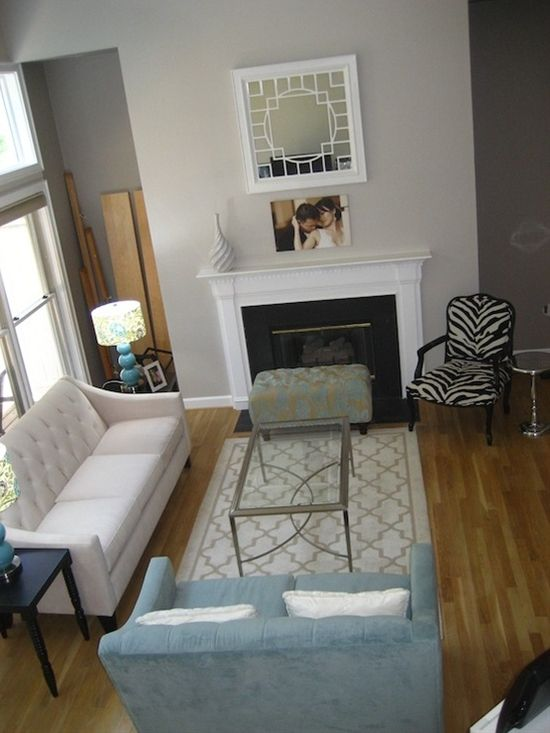 Foyer And Living Room Colors : Sherwin williams modern gray for living room foyer and