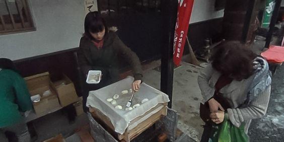 亀岡の大石酒造翁鶴の酒蔵