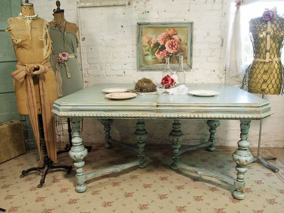 Tables, Shabby And Painted Cottage On Pinterest
