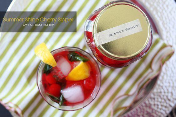 Summer Shine Cherry Supper by Nutmeg Nanny