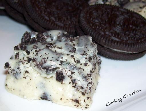 Oreo Cookie Fudge