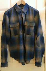 Pendleton x Opening Cermony Mens Button Up Flannel Shirt M RARE | eBay: