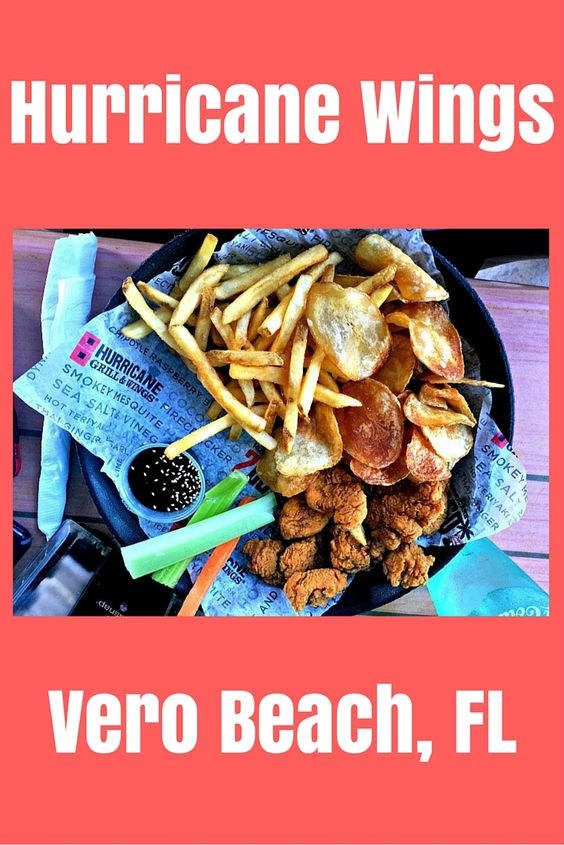 Hurricane Wings- our favorite wing, beer, and sporting events stop in Vero Beach, Florida. Their other dishes are just as wonderful! Try the fresh salads or Mexican bowls.