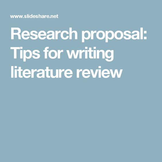 the literature review in research Fashioning Research - literature review