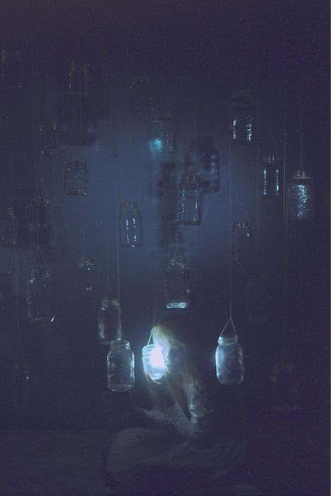 """""""Glowing Jars"""" Painted light. Out take of this."""