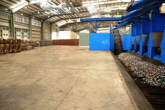 Bee'ah's Material Recovery Facility in Sharjah