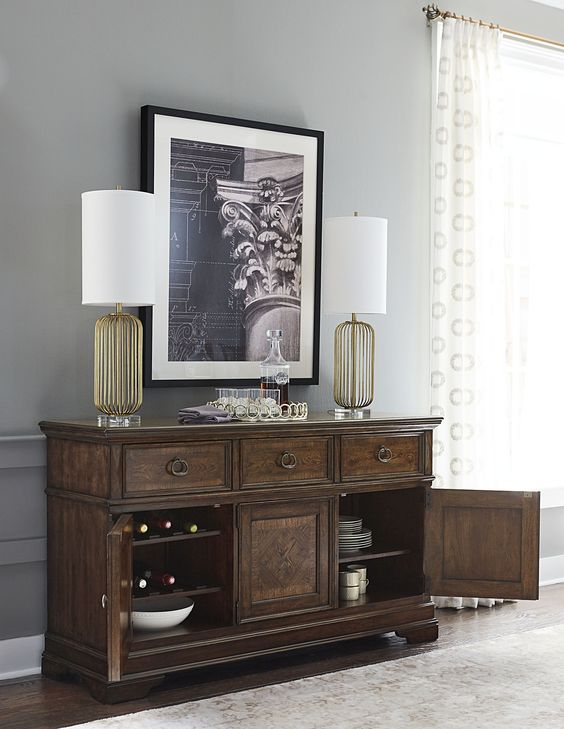 The Latham Collection Credenza - Legacy Classic Furniture