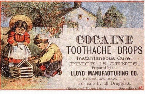 Cocaine for children? What could possibly go wrong?