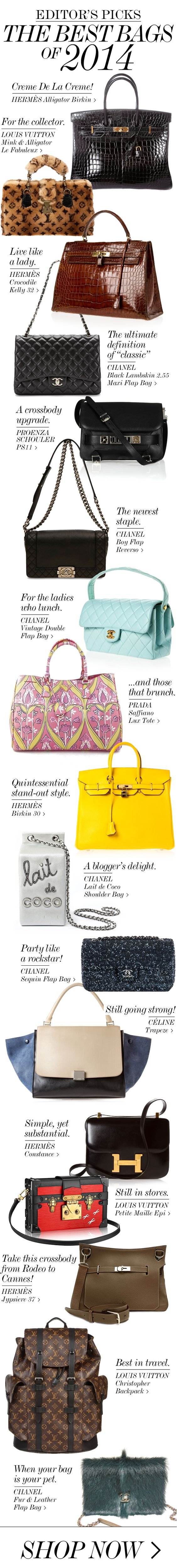 THE BEST BAGS OF 2014