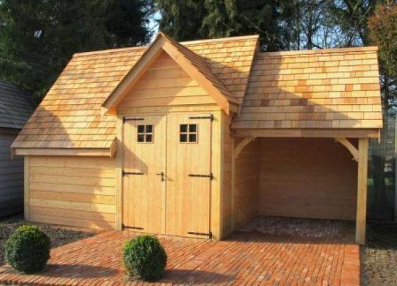 Abris de jardin tournai et lille chalet de jardin garage for Abri jardin garage