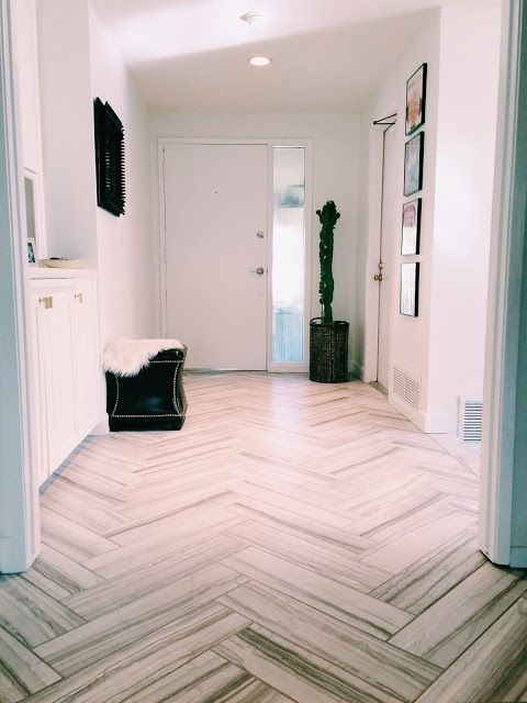 New Entryway Tile Holtwood Hipster Herringbone Home