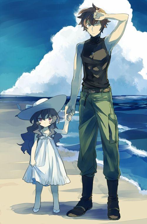 Tags Anime Fanart Zettai Karen Children Pixiv Niwatorisann Childrenanime Anime Siblings Zettai Karen Children Anime Child