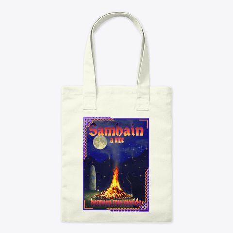 Halloween toteSamhain baghandbagreusable bag