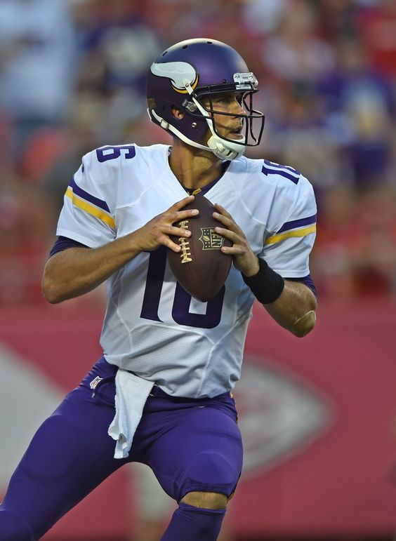 "Pin for Later: 30 Hot NFL Quarterbacks Who Give New Meaning to ""Fantasy Football"" Matt Cassel, Minnesota Vikings"