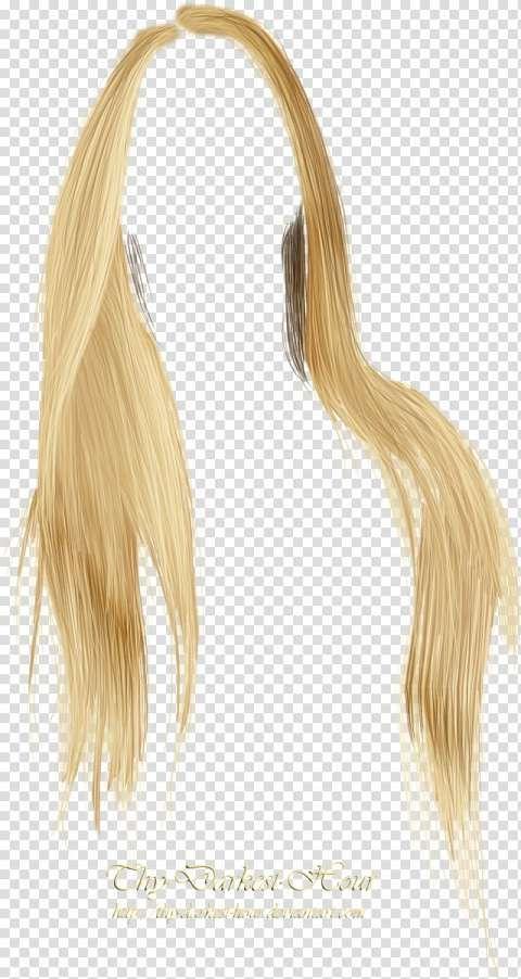 12 Blonde Wig Png Blonde Wig Long Blonde Wig Platinum Hair