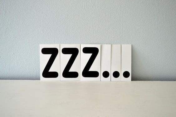 Image result for zzz sign