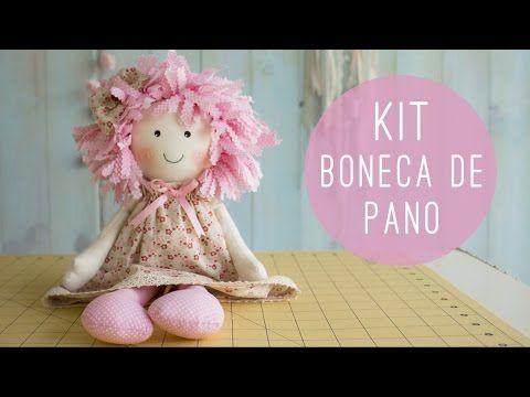 Como Fazer Boneca de tecido GRANDE sem máquina de costura -Cloth doll handmade - YouTube