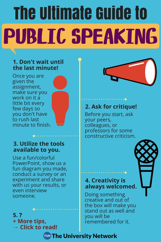 The Ultimate Guide to Public Speaking