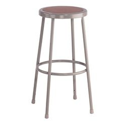 6200 Series Heavy Duty Lab Stools by National Public Seating are perfect for classroom and studio use. They feature a steel tubing frame, footring welded with 4 contact points on each leg and optional adjustable backrest.