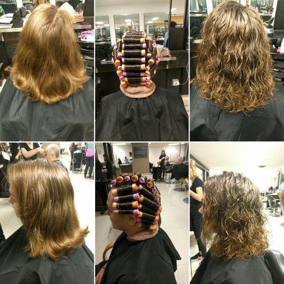 Type De Coiffure Apres Une Permanente Permanente Cheveux Mi Long Types De Coiffures Coiffure