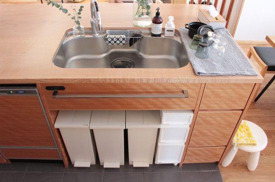 ゴミ箱選びって 超重要 ゴミ箱 適当に選んでいませんか 不動産のいろは ゴミ箱 インテリア 収納 シンプルな家の間取り