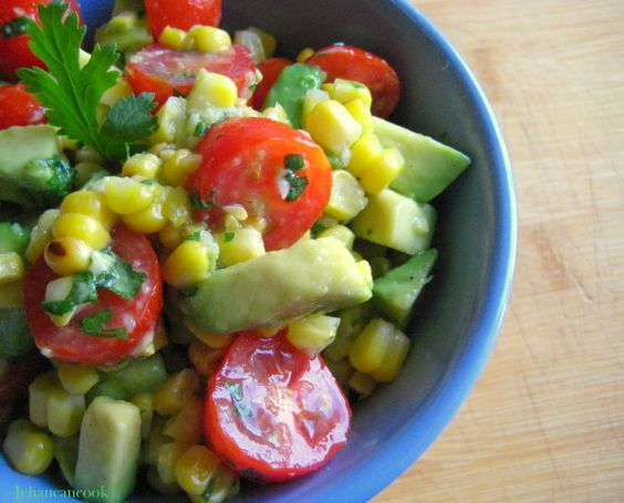 Top Salads For Avocado Lovers - Grilled Corn, Avocado And ...