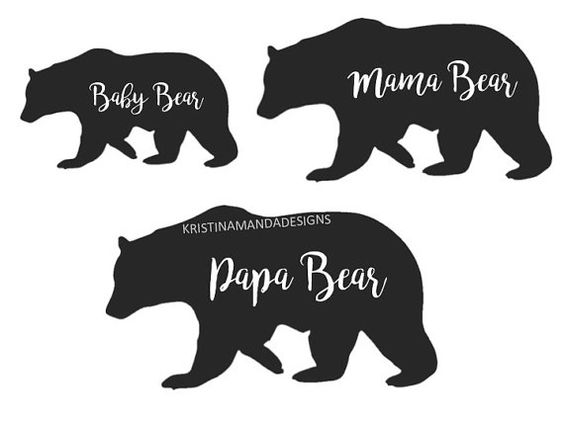 Papa Bear And The Cubs Youre So Fine