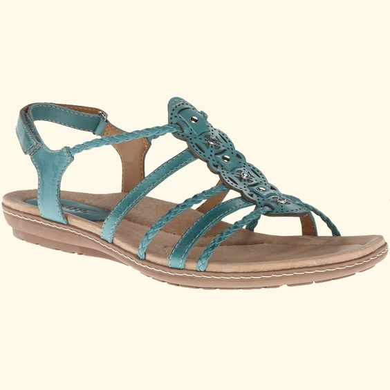 Earth Bluff Light Teal Full Grain (Women's)