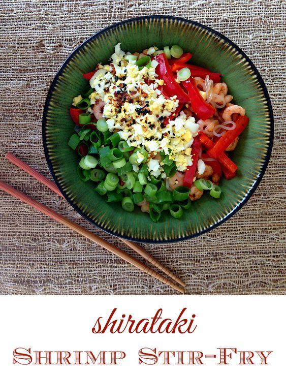 Shirataki Shrimp Stir-Fry (Paleo, Soy-Free, Grain-Free) | GrokGrub.com