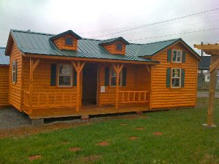 14x28 Prebuilt Cabin Ready To Set On Your Lot Acreage With