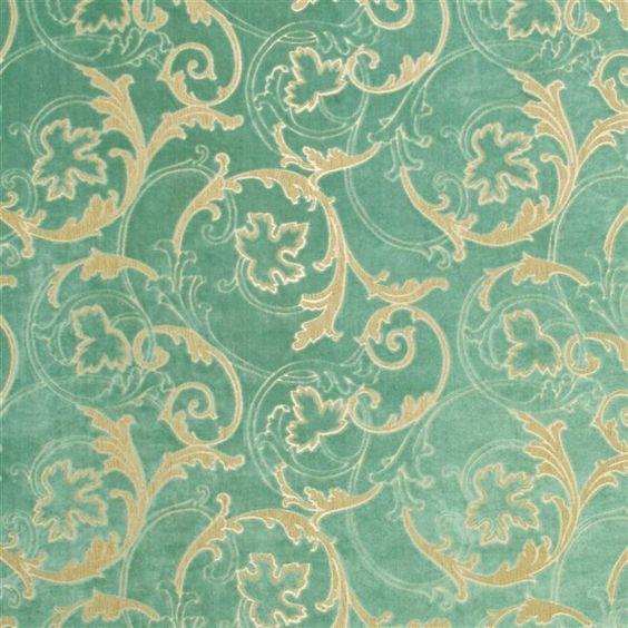 fontange - celadon fabric | Designers Guild