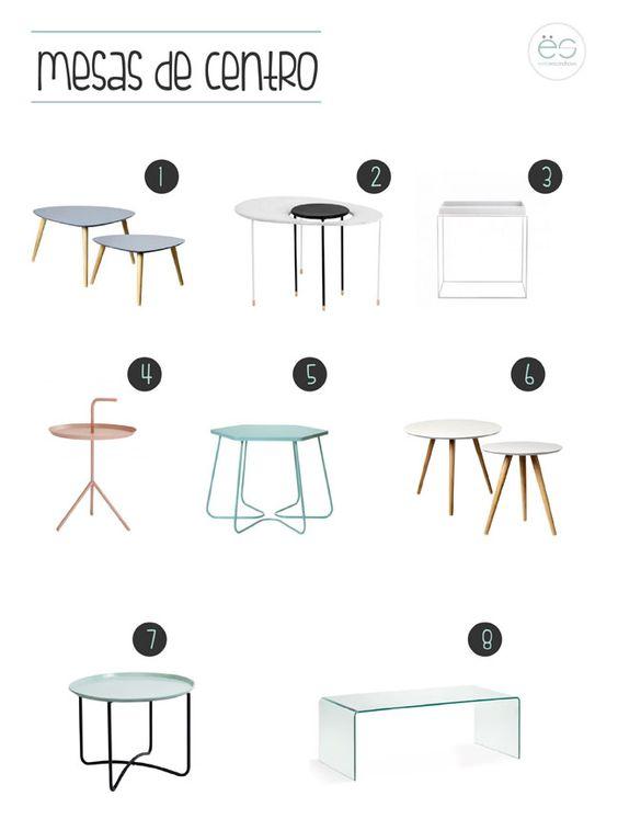 mesas de centro para salones pequeos estilo escandinavo