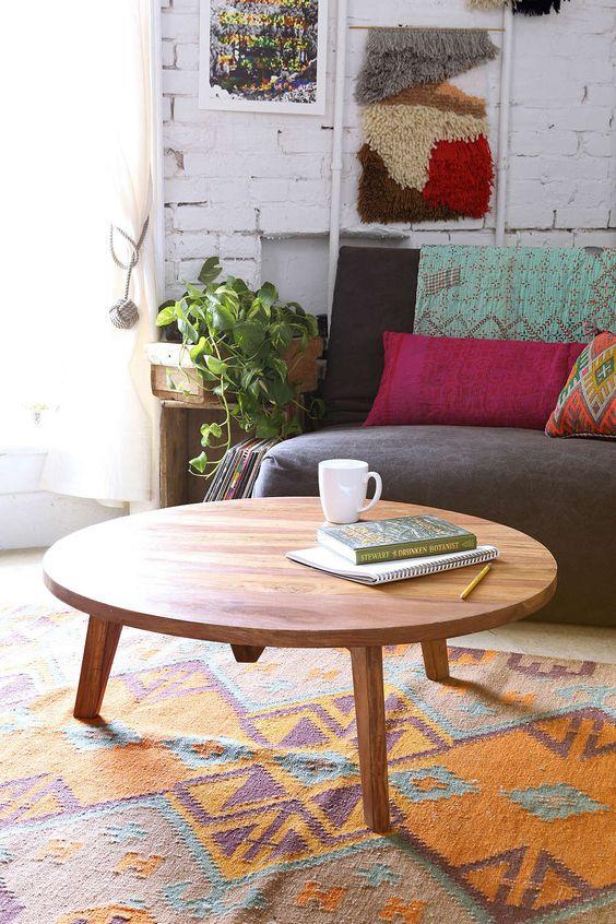 wohnzimmertische rund:kaffee tische urban outfitters städtisch modern runde tische